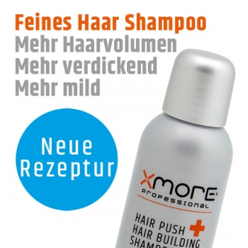 Xmore Hair Push + Hair Building Shampoo 100ml